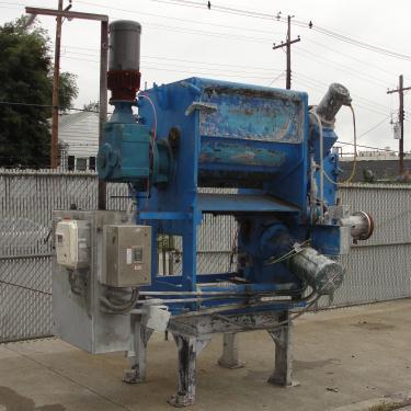 Extruder 16 diameter extruder kneader 7.5 hp drive
