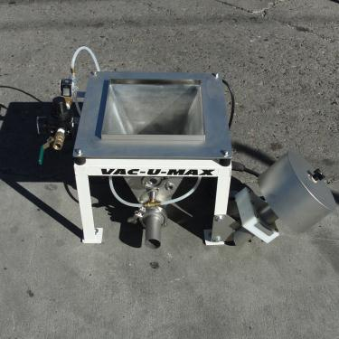 Conveyor VAC-U-MAX vacuum conveyor Stainless Steel .4 cuft capacity