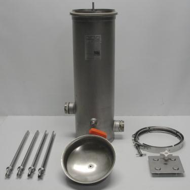 Filtration Equipment 4.4 sqft CUNO cartridge filter model 4DC2, 304 SS