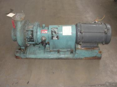 Pump 2x3-10 Goulds Pumps centrifugal pump, 10 hp, Stainless Steel