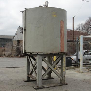 Tank 900 gallon vertical tank, Copper, flat bottom