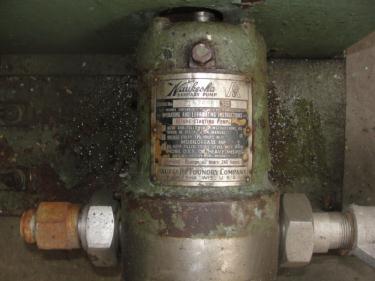 Pump 1 inlet Waukesha positive displacement pump model 10, Stainless Steel