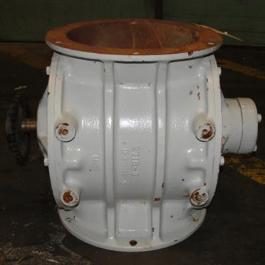 Valve 10 dia CS Prater-Sterling rotary airlock feeder