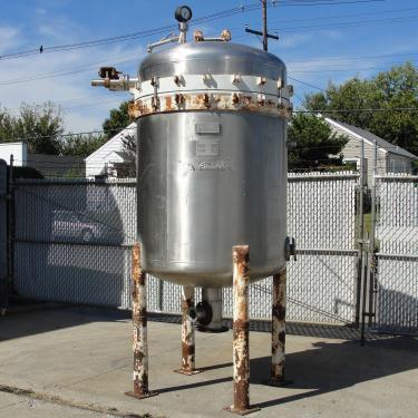 Filtration Equipment 342 sq.ft. Ametek Niagra pressure leaf filter model 48-322-342, 316 SS