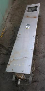 Conveyor screw conveyor Stainless Steel, 9 dia x 72l