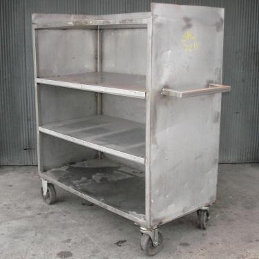 Miscellaneous Equipment Portable Cart, Stainless Steel