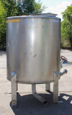 Tank 300 gallon vertical tank, Stainless Steel