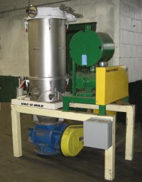 Dust Collector 4 sq.ft. Vac-U-Max reverse pulse jet dust collector 144 cfm, Positive Displacement fan