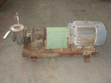 Pump 4x3x12 Dean centrifugal pump, 20 hp, Stainless Steel