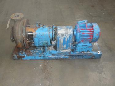 Pump 3x2x10 Fredrick centrifugal pump, 5 hp, Stainless Steel