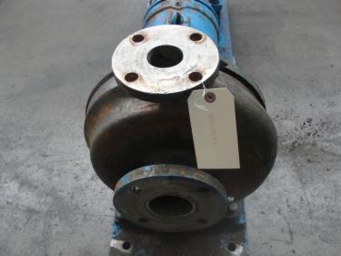 Pump 3x2x10 Fredrick centrifugal pump, 5 hp, Stainless Steel