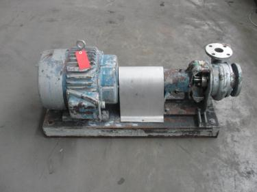 Pump 3x2x6 Worthington centrifugal pump, 5 hp, Stainless Steel