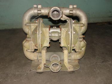 Pump 2 Sandpiper diaphragm pump, Aluminum