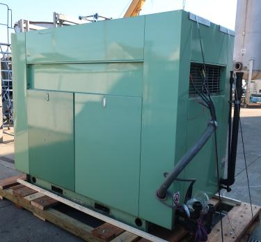 Compressor Sullair air compressor model LS20-100L AC, 500 cfm, Water cooled
