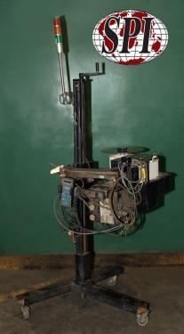 Labeler Diagraph pressure sensitive labeler model PA/4000, Tamp-on