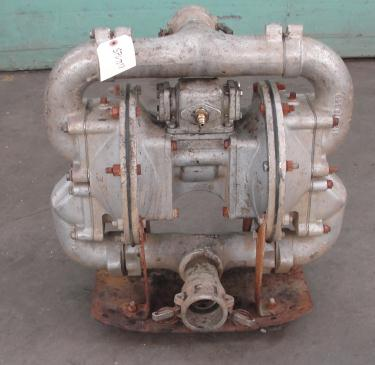 Pump 2 Warren Rupp diaphragm pump, Aluminum