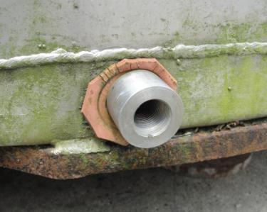 Tank 1,235 gallon vertical tank, Stainless Steel, flat bottom