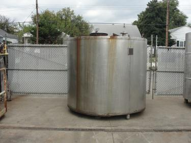Tank 1685 gallon vertical tank, Stainless Steel