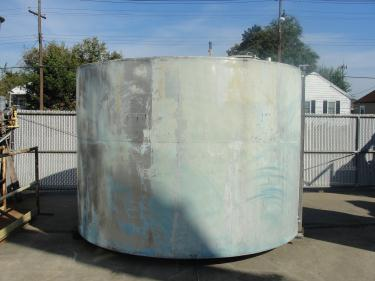 Tank 4033 gallon vertical tank, Stainless Steel, flat bottom