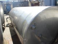Tank 2500 gallon vertical tank, Stainless Steel, flat Bottom