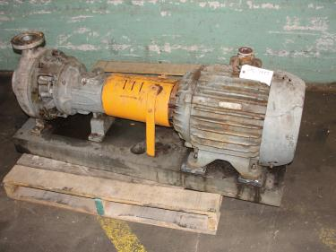 Pump Durco centrifugal pump, 25 hp, 316 SS