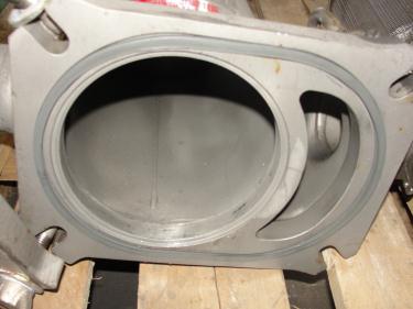 Filtration Equipment 6 Filter Specialists Inc basket strainer (single), model FSP N-40#, 316 SS