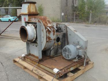 Blower centrifugal fan Quickdraft model M26, 30 hp, CS