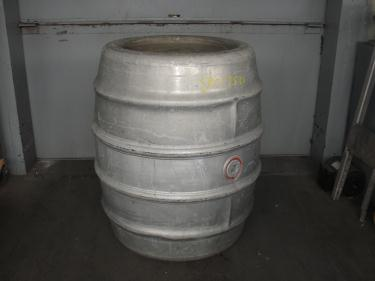Tank 225 gallon Giovanola Monthey-Suise liquid tote, Aluminum