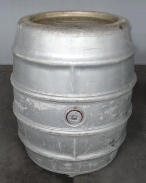 Tank 225 gallon Giovanola Monthey-Suisse liquid tote, Aluminum