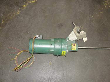 Agitator 1/3 hp electric Lightnin clamp-on agitator, model FV5P33