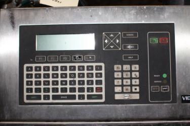 Coder Videojet ink-jet coder model Excel Series 100, 1 print heads, up to 916 ft/min (line speed)