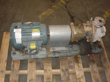 Pump 1.5x1x5 Goulds STX centrifugal pump, 5 hp, Stainless Steel