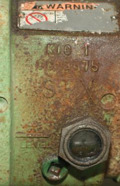Pump 12 x  43 x  15 GOULDS centrifugal pump, 5 hp, Stainless Steel