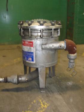 Filtration Equipment Harmsco cartridge filter model HUB40HP., Stainless Steel