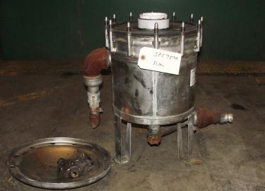 Filtration Equipment Harmsco cartridge filter model  HUB40HP, Stainless Steel