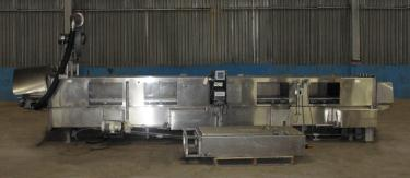 Washer 13 x 11 and 13 x 6 work opening case or tray washer, Stainless Steel
