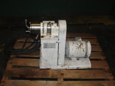 Mill 1.5 hp Sonic colloid mill model 2 1/2 LA, Stainless Steel Contact Parts