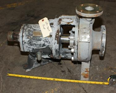 Pump 3x 2-7/60 Durco centrifugal pump, 316 SS