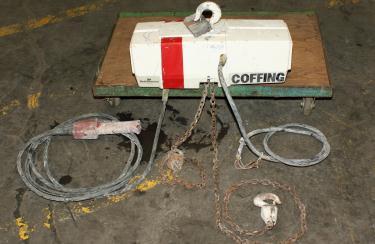 Material Handling Equipment chain hoist, 1,000 lbs. Duff Norton model EC-1016.3
