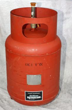 Tank 35 gallon vertical tank, CS, 125 PSI at 240 degrees F internal, dish Hydronic Expansion Tank