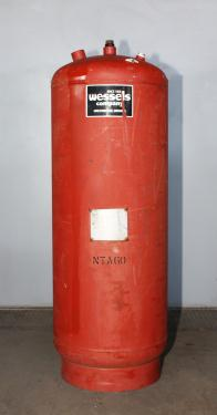 Tank 35 gallon vertical tank, CS, 150 psi@ 240F internal, dome Hydronic Expansion Tank