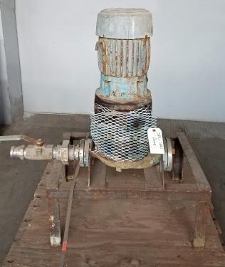 Pump 2x1-1/2 x 6 INGERSOLL-RAND centrifugal pump, 5 hp, Stainless Steel