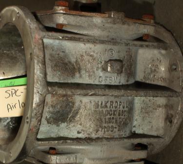 Valve 8-5/8 round Stainless Steel Hosokawa rotary airlock feeder model Micron