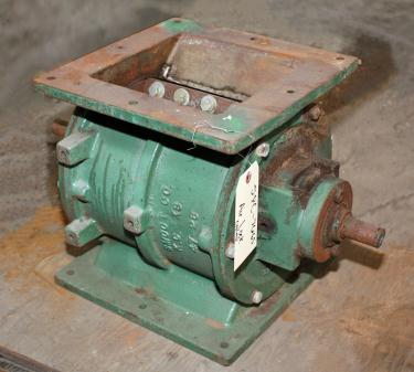 Valve 8x 8 CS, Smoot rotary airlock feeder, model 47-26/47 B-3
