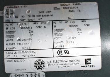 Valve 8 CS Fluidizer rotary airlock feeder model 5X20C510-6