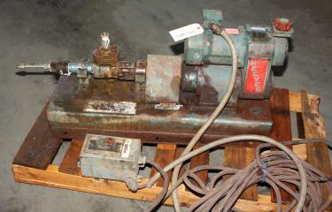 Pump Moyno Pump - Robbins and Myers Inc. progressive cavity pump model 3M1 CSQ AAA, 1/2 hp, Stainless Steel