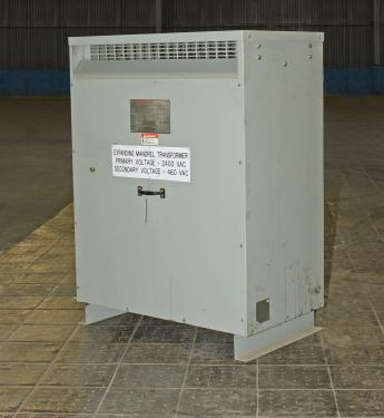 Transformers and Switchgear 145 kva Federal Pacific Transformer Company dry transformer, 2400 high voltage, 460 Y/ 266 low voltage, 3 phase