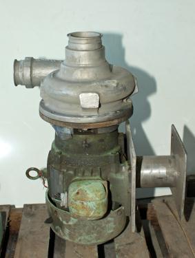 Pump  3 x 2-½ x 7 Ampco centrifugal pump, 3 hp, 316 SS