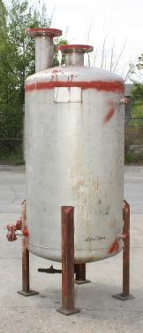 Tank 80 gallon vertical tank, Stainless Steel