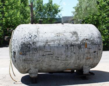 Tank 600 gallon horizontal tank, CS